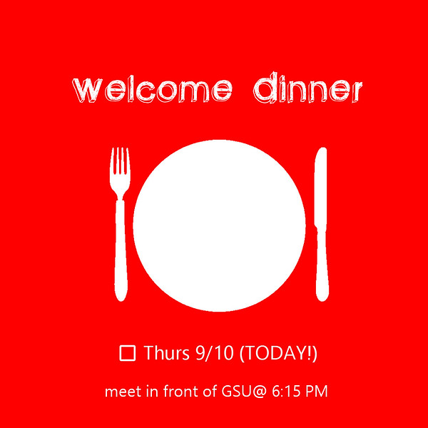 Welcome Dinner 1 0