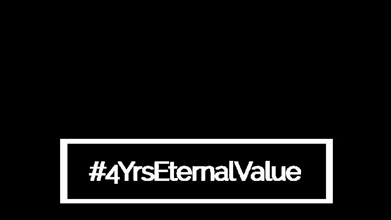 #4YrsEternalValue