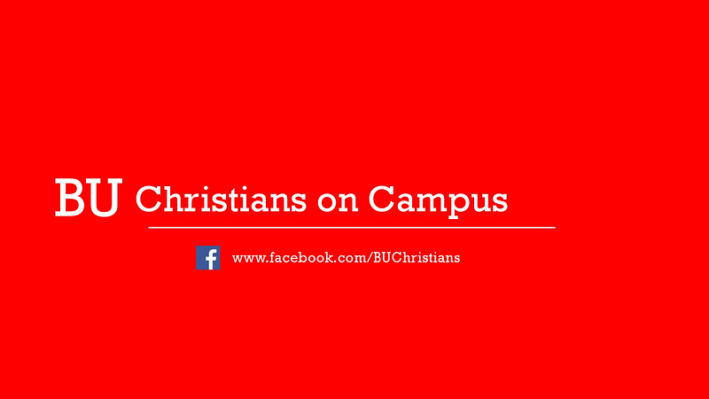 Video Cover Christians on Campus Facebook