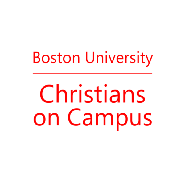 Boston University Christians on Campus Icon Text Ebrima White