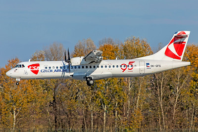 Czech Airlines ATR 72-500 OK-GFS 11-14-18