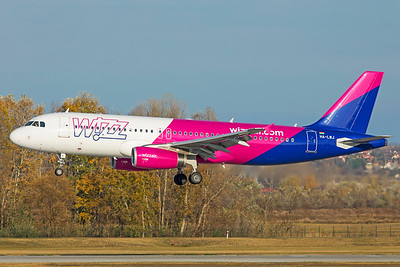 Wizz Air Airbus A320-232 HA-LWJ 11-14-18