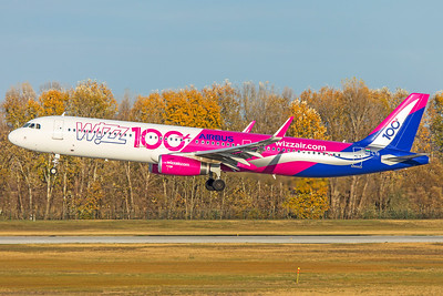 Wizz Air Airbus A321-231 HA-LTD 11-14-18