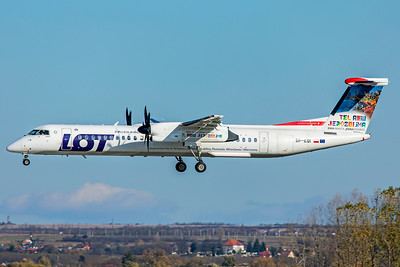 LOT - Polish Airlines Bombardier DHC-8-402Q SP-EQI 11-14-18