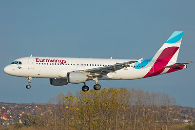 Eurowings Airbus A320-214 D-ABNL 11-14-18