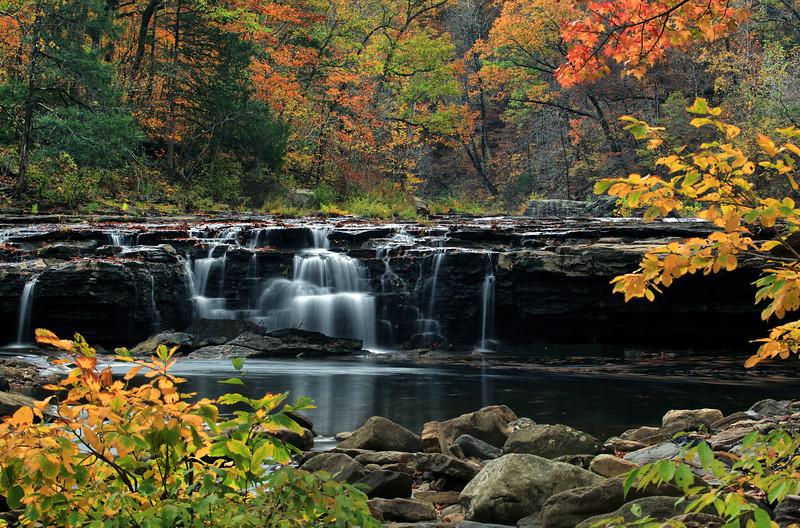 Richland Creek Falls - Richland Creek Area - Ozarks