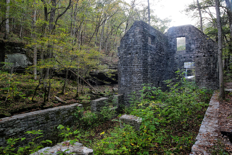 Blanchard Springs Caverns - Historic Mitchell Grist Mill Site - Ozark–St. Francis National Forest