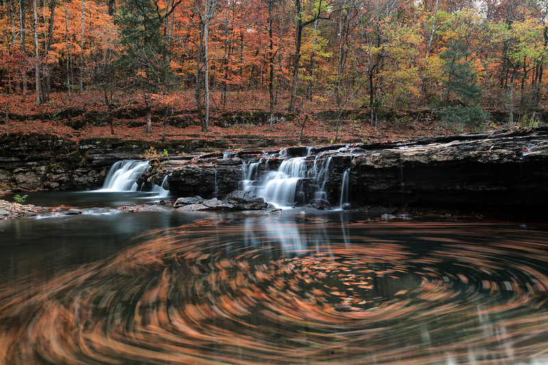 Richland Creek Falls - Richland Creek Area - Ozark National Forest