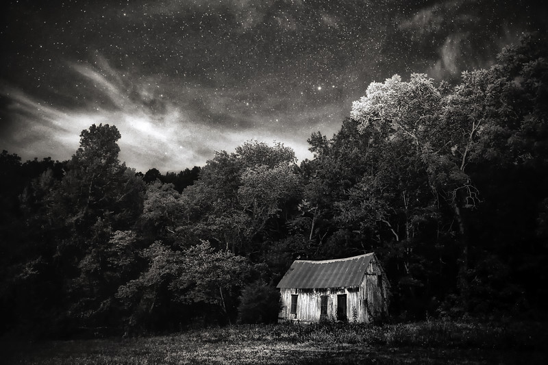 Old School House Under the Stars - Lost Valley - Buffalo National River - Ponca, Arkansas -