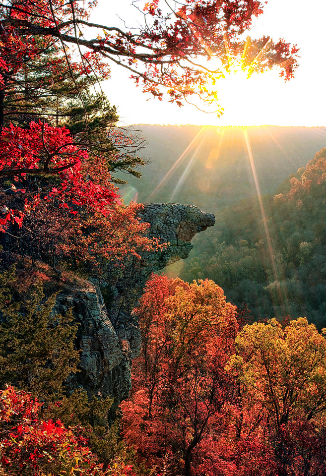 SUNRISE HAWKSBILL CRAG - BUFFALO RIVER AREA
