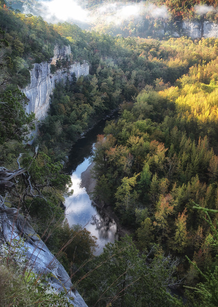 Big Bluff on the Goat Trail - Buffalo Natioanal River - Ozarks