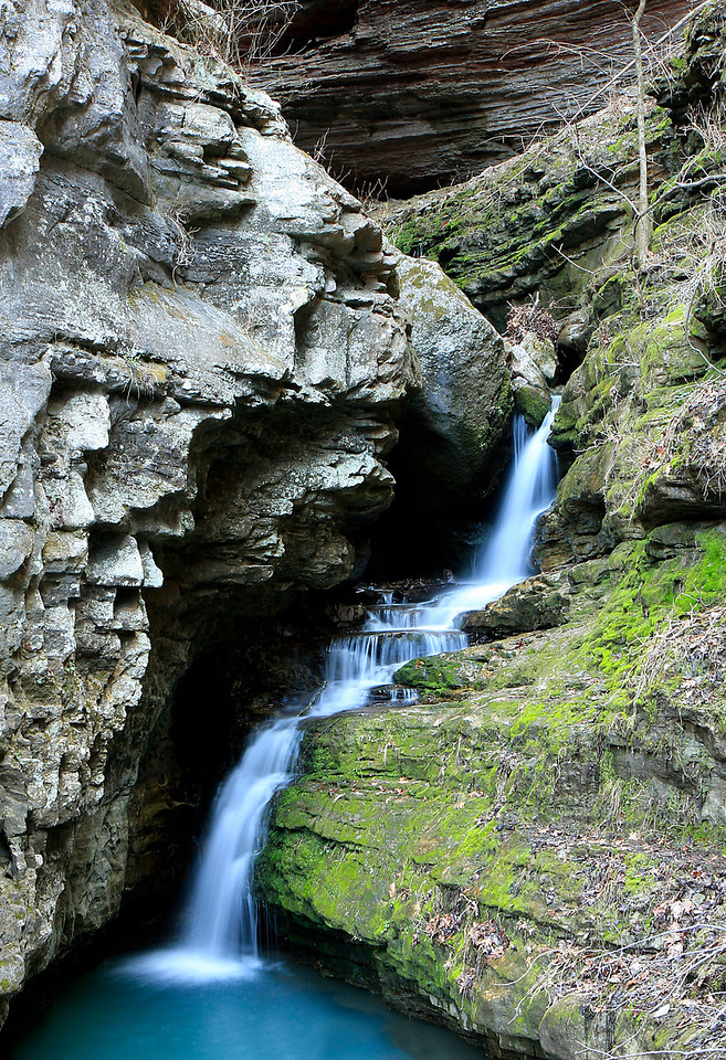 Indian Creek Waterfall - Buffalo River Area