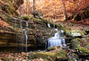 A BEAUTIFUL WATERFALL IN  LOST VALLEY- BUFFALO RIVER
