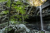 Long Pool Falls - Long Pool Recreation Area - Ozark National Forest - Arkansas - Fall 2018