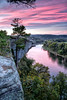 Little Hawksbill Crag - Rock City Bluff - Calico Rock  on the White River - Calico Rock,  Arkansas