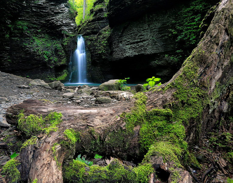 Fuzzybutt Falls - Ozark National Forest - May 2017
