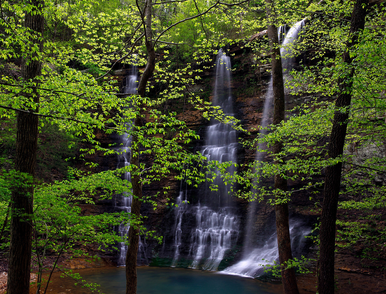 Triple Falls - Buffalo National River Area