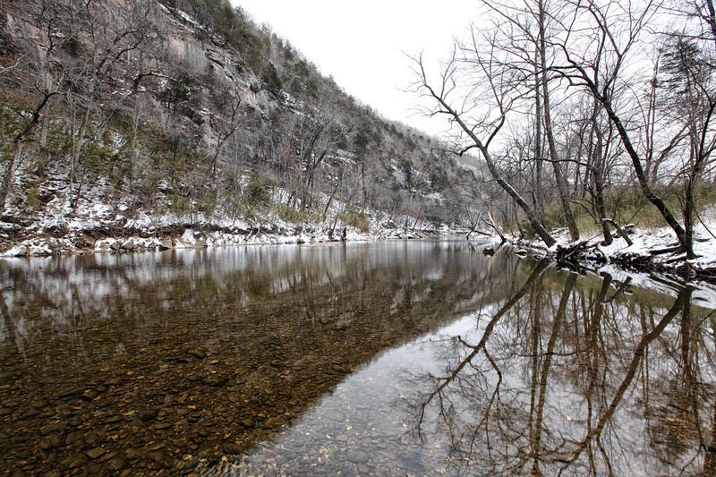 Winter Snow - Buffalo National River