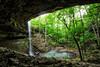 Heart of the Forest - Bingham Falls  - Ozark National Forest