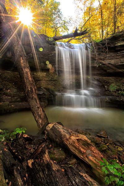 Anniversary Falls - Hawcreek Rec Area - Ozark National Forest