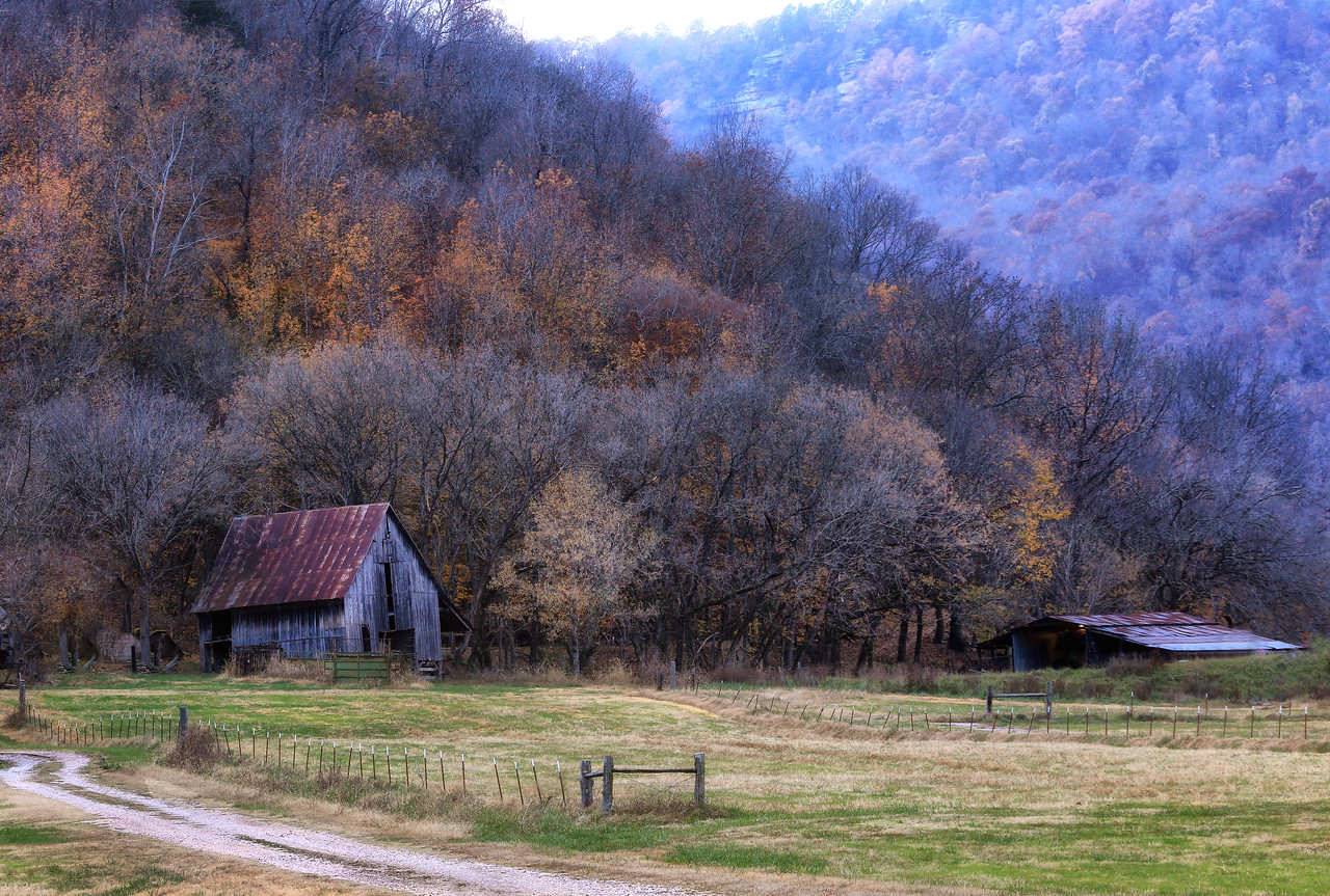 Old Barn in Boxley Valley - Ponca, Arkansas - Fall 2017