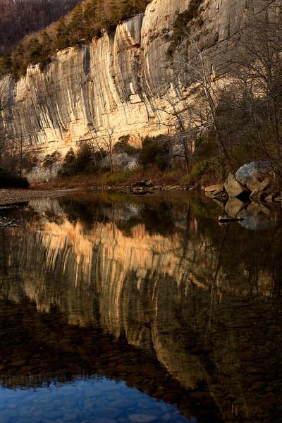 WINTER REFLECTIONS - BUFFALO RIVER