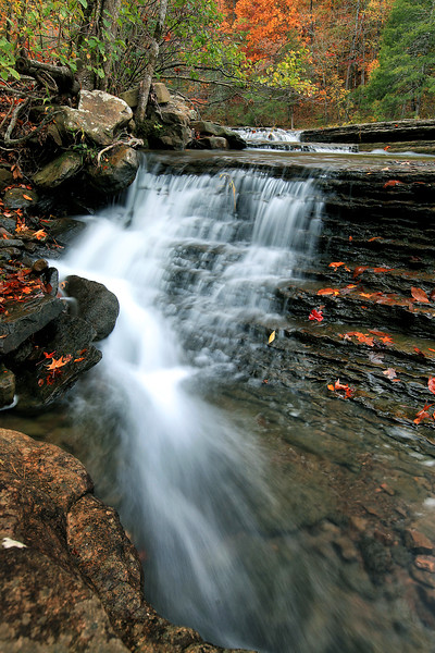 Six Finger Falls - Richland Creek Area - Ozark National Forest