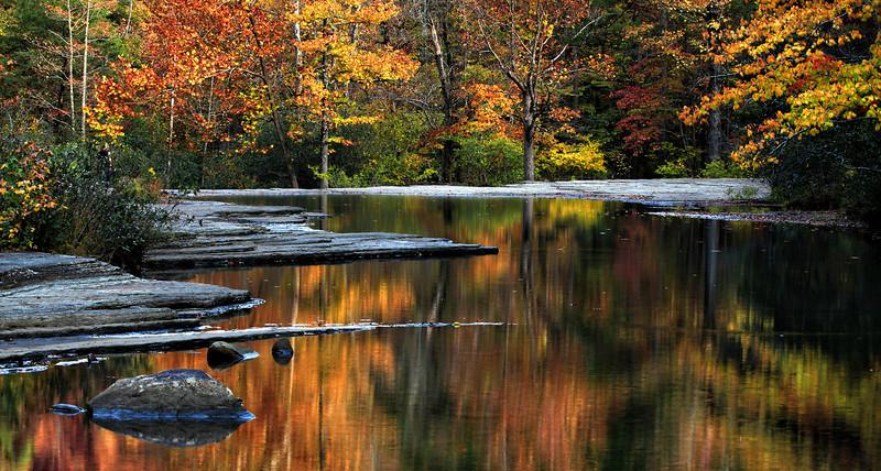 Hawcreek Falls - Reflections