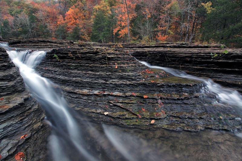 Six Finger Falls - Richland Creek Area - Ozarks National Forest
