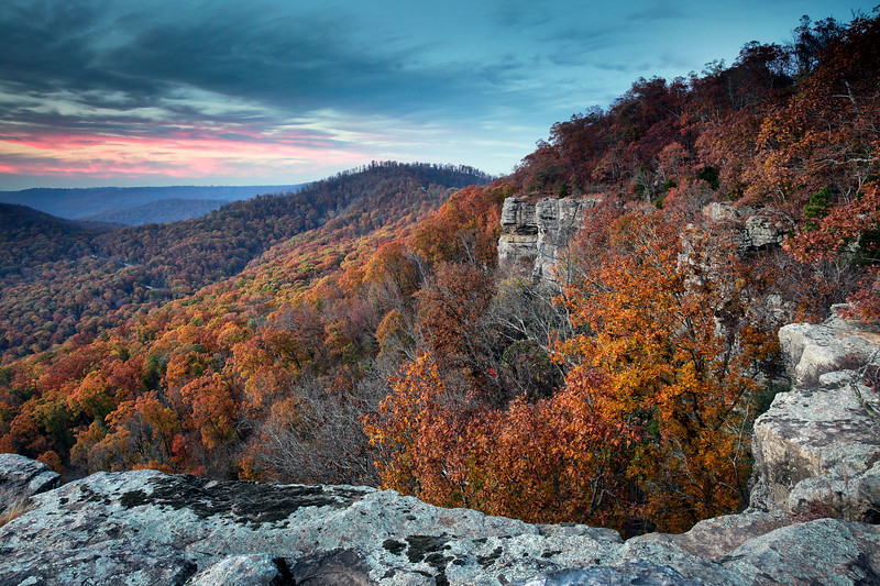 The Cliffs - White Rock Recreational Area - Ozark National Forest - Arkansas