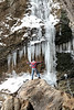 Eden Falls in Winter - Buffalo National River Area
