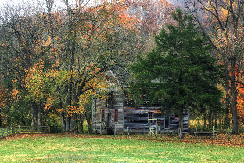 Old Boxley Grist Mill - Ponca, Arkansas - Fall 2017