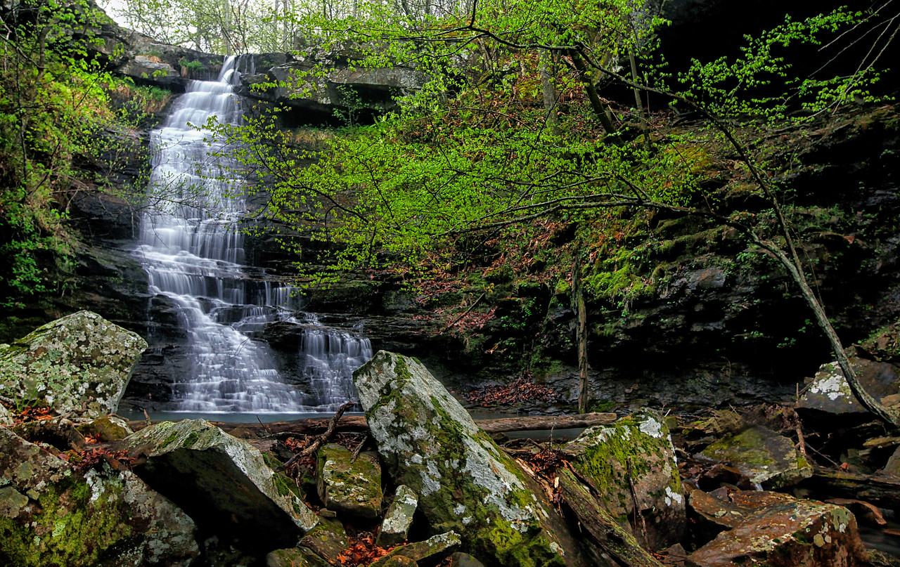 Native American Falls - Ozark National Forest