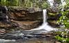 White Oak Creek Falls with Dogwood, Ozark National Forest - Arkansas April 13, 2020
