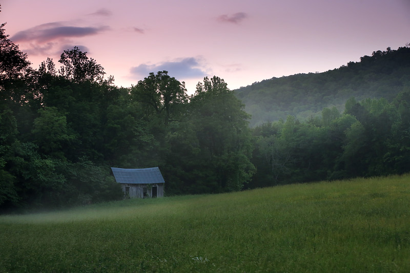 Old Cabin - Lost Valley - Buffalo National River - Spring 2018