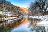Icy Fire Water - Boxley Valley - Buffalo National River - Ponca, Arkansas - Winter 2014