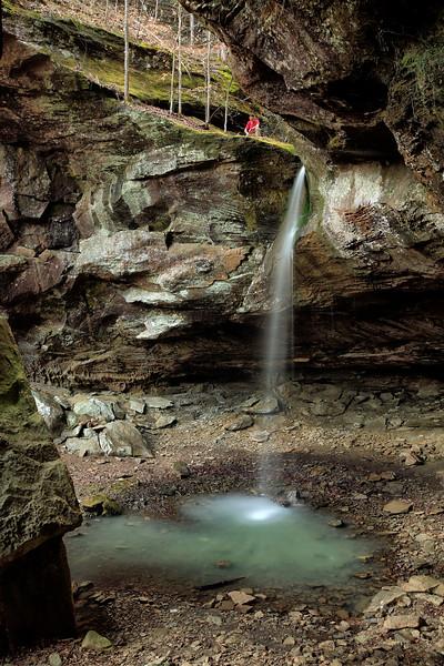 Pams Grotto - Hawcreek Rec Area - Ozarks