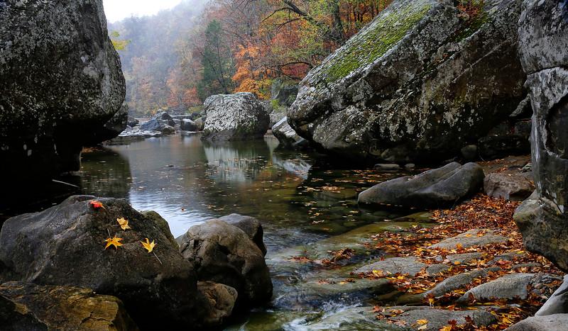 Fall on Richland Creek - Arkansas
