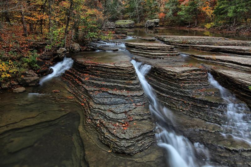 Six Finger Falls  - Fall - Richland Creek Area