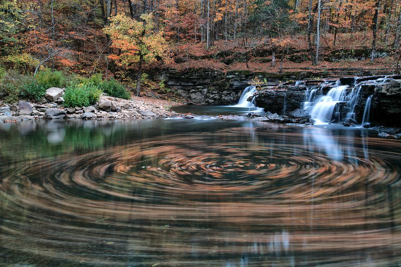 Richland Creek Falls - Richland Creek Area - Ozark National Forest