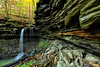 Pack Rat Falls - Hawcreek Recreational Area - Ozark National Forest