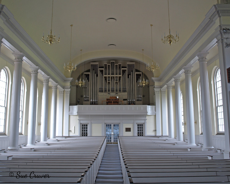 Back of Voorhees Chapel