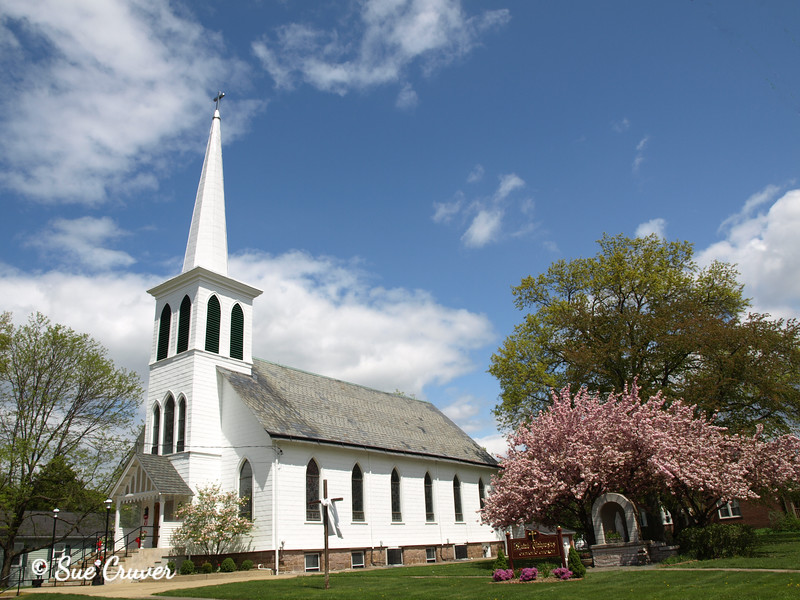 Country Church  In the Spring