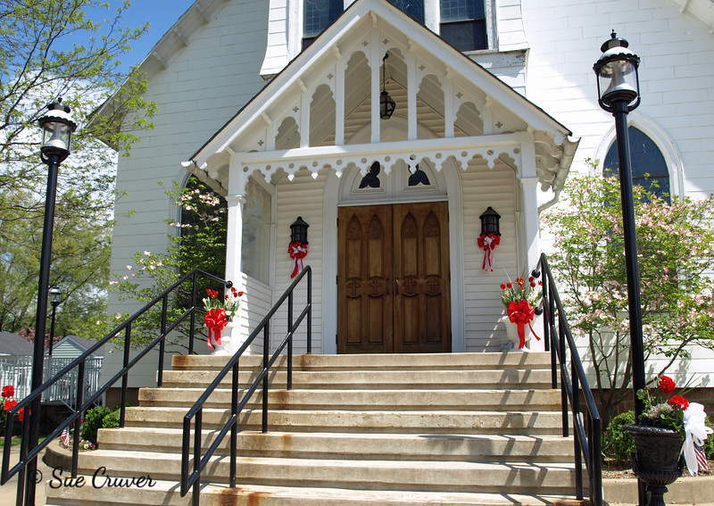 Country Church Entrance