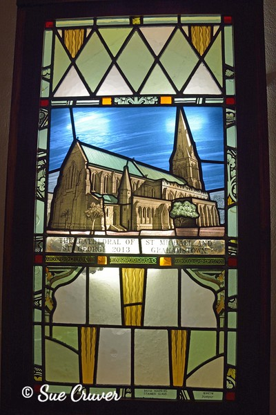 Stained Glass Cathedral Image