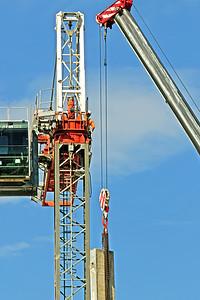 Construction crane removal. Update ed310. Gosford. April 9, 2019.