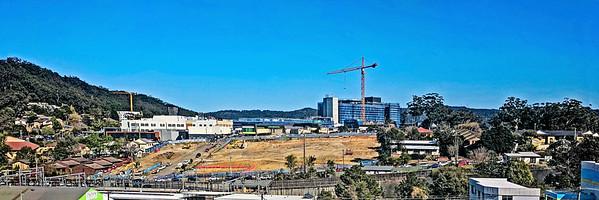 Gosford Hospital building progress   September 18, 2017.   (h6ed)