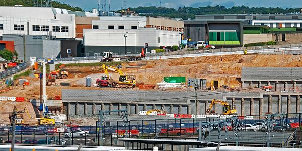 Gosford Hospital building progress  March 12, 2018.  (h11ed)