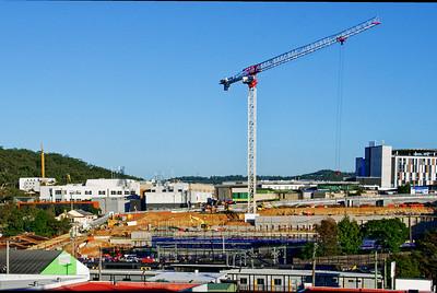 Gosford Hospital building progress  May 17,  2018.   H18ed.