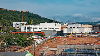 Gosford Hospital building progress  April 26, 2018.   (h13ed)